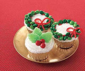 Orange Cupcakes with Vanilla Frosting