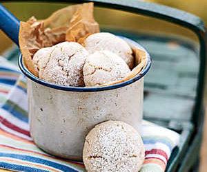Cinnamon-Almond Cookies
