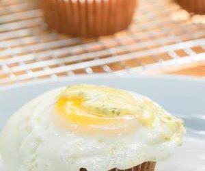 Bacon Breakfast Cupcake