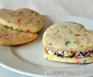 Confetti Cookie Ice Cream Sandwiches Recipe