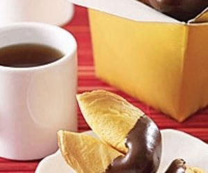 Chocolate-Dipped Fortune Cookies recipes
