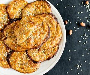 Flourless Peanut Butter Hemp Cookie Pancakes
