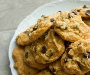 Pot Pumpkin Chocolate Chip Cookies