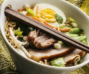 Cannabis-Infused Pork Belly Ramen