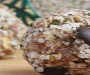 Chocolate Coconut Hemp Energy Bites